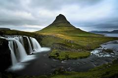 Kirkjufell (Pietro Consigliere) Tags: iceland kirkjufell islanda longexposure mountain kirkjufellsfoss travel waterfall cascata summer