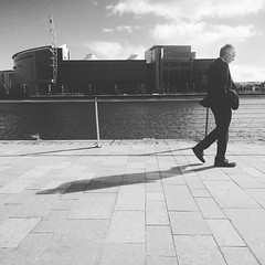 Lunch - Time To Reflect and Reset #street #photography #belfast (n_i_c_k_m_c_c) Tags: instagramapp square squareformat iphoneography uploaded:by=instagram moon