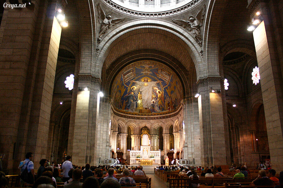 2016.10.02 ▐ 看我的歐行腿▐ 法國巴黎一日雙聖,在聖心堂與聖母院看見巴黎人的兩樣情 11