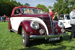 Matford Alsace V8 1937 (Monde-Auto Passion Photos) Tags: chevrolet roadster cabriolet rouge matford france 48h montargis villemandeur domaine lisledon