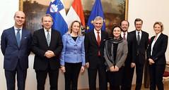 Generalsekretär Linhart trifft slowenische Staatssekretärin Sanja Stiglic