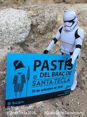 37 El tiquet per al pastis (Nightwing80) Tags: stormtrooper santatecla 2016 que la tecla tacompanyi starwars festa tarragona twitter