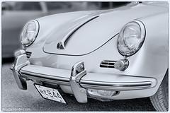 Porsche 356 S 1963 (KenWilliamsPhoto) Tags: porsche 356 s 1963 nashua monochrome front