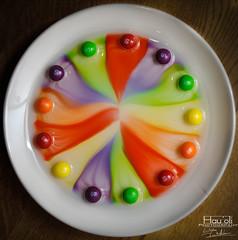 colours of the rainbow (Mau Hau'oli) Tags: nikon colour d5000 rainbow coloursoftherainbow multicoloured brightness red green orange purple skittles sweets flash flashphotography flashphotographytechniques