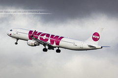 CDG - Airbus A321-211WL (TF-DAD) WOW Air (Aro'Passion) Tags: named inn nordic god of wisdom cdg lfpg paris parisroissycharlesdegaulle 60d canon aropassion airport aircraft airbus aroport dcollage departing takeoff rotate rotation monteinitiale variopositif a321 a321211 a321211wl wow air natw photography photos tfdad