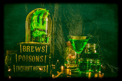 brews poisons enchantments (auntneecey) Tags: scary boo halloween brewspoisonsenchantments tabletop sliderssunday hss slide photoshop odc thumbsup wah