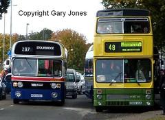 1956 & 2989 (onthebeast) Tags: wythall bus museum maypole wmpte 30 fleetline 1956 wda 956t 2989 e989 vuk wolverhampton corporation mcw metrobus west midlands travel