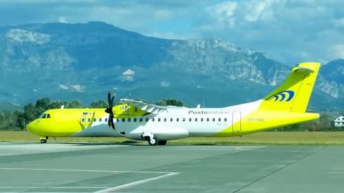 Aerospatiale / Alenia ATR.72-212A c/n 705 Mistral Air registration OY-YAE