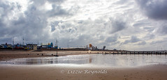 Day 294, 2016, a photo a day. (lizzieisdizzy) Tags: howiemarsh hunstanton beach afternoon sand sky cloudy seaside west norfolk holiday groynes tidal lowtide wave waves serene beautiful peaceful scenic thewash eastcoastofengland