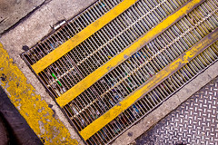 It's Sewer Grate To See You (Chris Huddleston) Tags: drain trash grate sidewalk outside urban