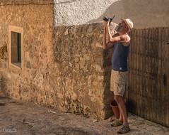 pris en flagrant deli de photo (Hlne Baudart) Tags: photographe baleares palma