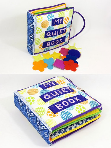 Quiet book by Linearahandmade.etsy.com
