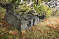 Dinorwic quarry building 04 oct 16 (Shaun the grime lover) Tags: dinorwic dinorwig llanberis slate quarry wales autumn building derelict industrial mountain ruin ruined ruinous
