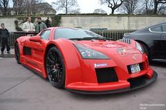 Gumpert Apollo (Monde-Auto Passion Photos) Tags: auto automobile gumpert apollo rouge coup france rally paris evenement supercar sportive