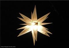 Herrnhuter Stern - Moravian star (Jorbasa) Tags: jorbasa hessen wetterau germany deutschland stern star herrnhuterstern moravianstar weihnachtszeit christmastime oberlausitz herrnhuterbrdergemeinde betlehem adventstern weihnachtsstern starofbetlehem adventstar