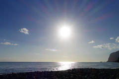 DSC02210 (adamfrunski) Tags: funchal madeira portugal sun sky beach