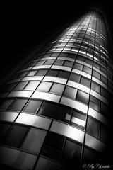 Circular (christelerousset) Tags: ladéfense paris building tour gratteciel moderne bw nb blackwhite lightroom puteaux coeurdéfense wow