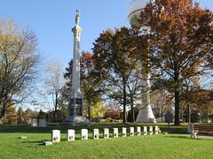 Stillman's Run Memorial Grounds (waynemegaman) Tags: stillmanvalleyil blackhawkwar abelincoln stillmansrun militia illinois oglecountyil americanindian military cemetery memorial 1832