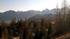 The north side of the Vette Feltrine group (Dolomites) (ab.130722jvkz) Tags: italy veneto alps easternalps dolomites vettefeltrinegroup mountains winter reservesandnationalparks