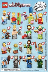 Collectible Minifigures The Simpsons Series 01 (AB Quest) Tags: lego collectible minifigures simpsons