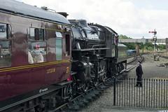 Kidderminster Town (BarkingBill) Tags: railway railroad train 43106 kidderminster svr uksteam