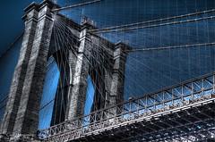 Brooklyn Bridge (veytrex8345) Tags: brooklyn nyc newyork bridge hdr dramatic brooklynpark city blue gray powerful outdoor sky pentax pentaxlife pentaxuser