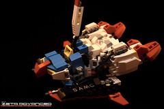 Z Transform 7 (Sam.C (S2 Toys Studios)) Tags: zetagundam gundam mobilesuit lego moc s2 80s scifi mecha anime japan spacecraft