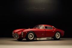 1954 MASERATI A6GCS Berlinetta (aJ Leong) Tags: 1954 maserati a6gcs berlinetta 118 ricko classic cars vintage vehicles automobiles garage