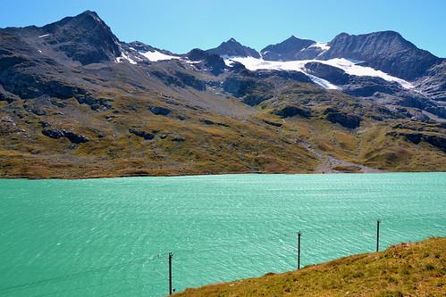Lago Bianco, Bernina pass