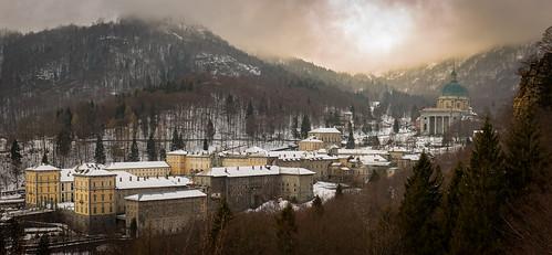 Winter Oropa Sanctuary (Biella, ITALY)