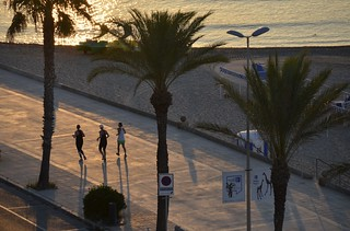 Morning trainning, Terramar, Sitges, Barcelona.