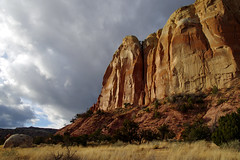 Ghost Ranch by Abiquiu. Rio Arriba Co., New Mexico, USA. (cbrozek21) Tags: ghostranch newmexico rocks geology landscape