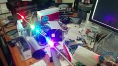 Accelerometer+LEDs test (polyglot) Tags: electronics diy rgb led imu accelerometer gyro stm32 mpu6050 apa102 spi dma