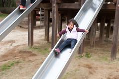 Adapting to G force (Wunkai) Tags: ishiokashi ibarakiken japan  jeanwang  playground slide  recreationalfacility