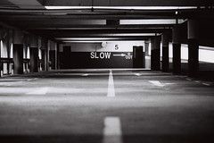 Slow (OzGFK) Tags: asia singapore goldenmiletower carpark film analog 35mm blackandwhite bw monochrome streetphotography contrast urban
