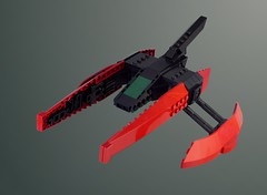 Spindrift VicViper (lokiloki29) Tags: lego moc space ship vic viper