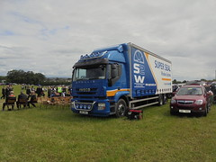 ONZ 9100 - Super Seal Window Systems Castledawson County Londonderry (Jonny1312) Tags: iveco ivecostralis castledawson londonderry lorry truck
