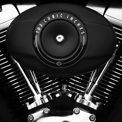 Torque of Steel - The Harley Davidson Series III (Dez Karpati Photography) Tags: dezkarpati magyar hungarian photo foto photography fineart photoart famous blackandwhite bw monochrome dark black dramatic abstract metal chrome motor bike motorcycle americanicon americana custom milwaukee hd harleydavidson