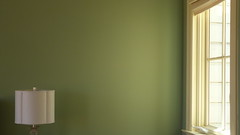 A13955 / last look at lani's house (janeland) Tags: sanfrancisco california 94107 potrerohill rhodeislandstreet architecturaldetail interior april 2016 lani green wall window lamp hopperesque sooc