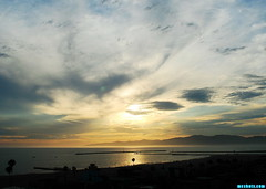 ARainySummerDay (mcshots) Tags: usa california socal losangelescounty summer sunset coast sky clouds hot humid evening sun 2015 stock mcshots
