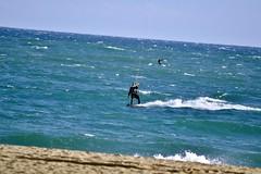 KITESURF AL BOGATELL (Yeagov C) Tags: 2016 barcelona catalunya kitesurf bogatell platjadelbogatell kitesurfing kiteboarding flysurfing