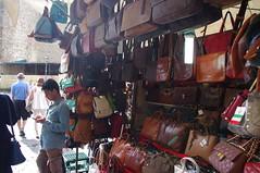 At the San Lorenzo Leather Market  Florence Italy (Bury Gardener) Tags: florence italy europe 2016 streetphotography street streetcandids candids candid leather market handbags belts sanlorenzo