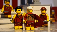 Ides of March - 44 B.C. (legophthalmos) Tags: lego juliuscaesar idesofmarch caesar forum brutus ettubrute march15 history roman empire