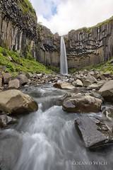 Svartifoss (Rolandito.) Tags: europa europe island iceland cascade basalt waterfall svartifoss