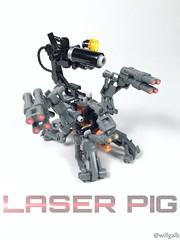 Laser Pig (willgalb) Tags: laserpig lego moc pig future lasers