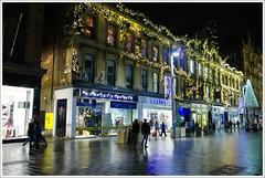 Buchanan Street Christmas Lights (Ben.Allison36) Tags: buchanan street glasgow night shot scotland christmas lights hand held