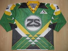 EHC Zunzgen-Sissach early 90s Game Worn Jersey (kirusgamewornjerseys) Tags: ehc zunzgensissach game worn jersey 1 liga swiss switzerland eishockey ice hockey christof amsler