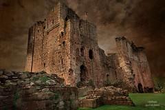 Brougham Castle Keep (RaeofGold) Tags: broughamcastle england travel britain architecture castle cumbria texture distressedjewell medieval fortress stonestructure historical raeofgoldphotoart peeblespair