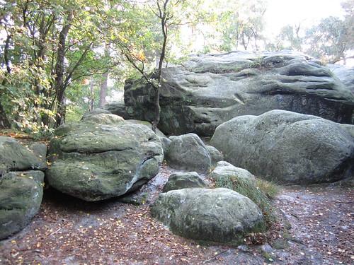 Steinen auf dem Isterberg