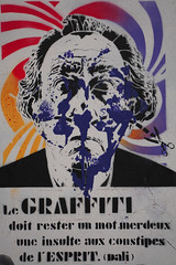 Mans of Paris (Marco Braun) Tags: streetart graffiti paris 2016 schwarz weiss black noire white blanc mann homme man colourful coloured farbig bunt couleure francefrankreich